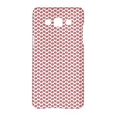Lipstick Red Kisses Lipstick Kisses Samsung Galaxy A5 Hardshell Case