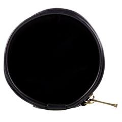 Black and Grey Perforated PInhole Carbon Fiber Mini Makeup Bags