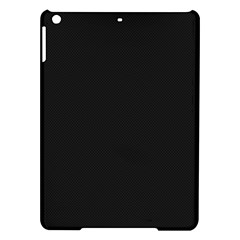 Black and Grey Perforated PInhole Carbon Fiber iPad Air Hardshell Cases