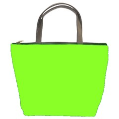 Super Bright Fluorescent Green Neon Bucket Bags