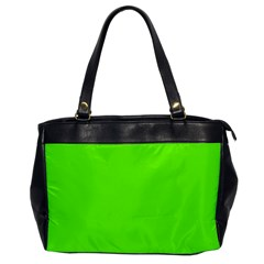 Super Bright Fluorescent Green Neon Office Handbags