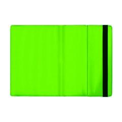 Super Bright Fluorescent Green Neon Apple iPad Mini Flip Case