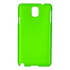 Super Bright Fluorescent Green Neon Samsung Galaxy Note 3 N9005 Hardshell Case