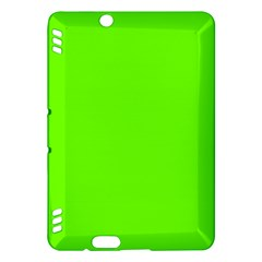 Super Bright Fluorescent Green Neon Kindle Fire HDX Hardshell Case
