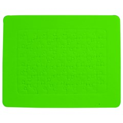 Super Bright Fluorescent Green Neon Jigsaw Puzzle Photo Stand (Rectangular)
