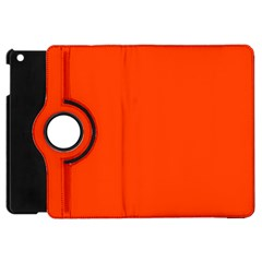 Bright Fluorescent Attack Orange Neon Apple iPad Mini Flip 360 Case