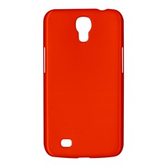 Bright Fluorescent Attack Orange Neon Samsung Galaxy Mega 6 3  I9200 Hardshell Case