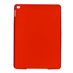 Bright Fluorescent Attack Orange Neon iPad Air 2 Hardshell Cases