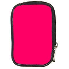 Super Bright Fluorescent Pink Neon Compact Camera Cases
