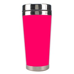 Super Bright Fluorescent Pink Neon Stainless Steel Travel Tumblers