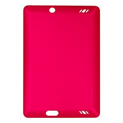 Super Bright Fluorescent Pink Neon Amazon Kindle Fire HD (2013) Hardshell Case