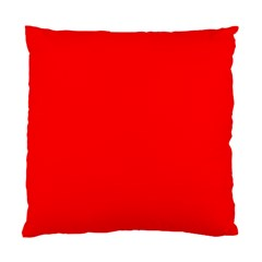 Bright Fluorescent Fire Ball Red Neon Standard Cushion Case (Two Sides)
