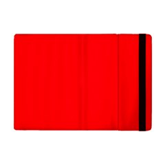Bright Fluorescent Fire Ball Red Neon Apple iPad Mini Flip Case