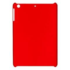 Bright Fluorescent Fire Ball Red Neon Apple iPad Mini Hardshell Case