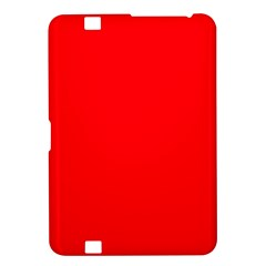 Bright Fluorescent Fire Ball Red Neon Kindle Fire Hd 8 9