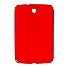 Bright Fluorescent Fire Ball Red Neon Samsung Galaxy Note 8.0 N5100 Hardshell Case