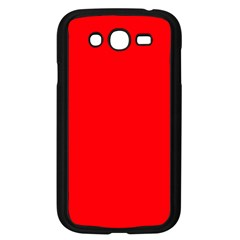 Bright Fluorescent Fire Ball Red Neon Samsung Galaxy Grand DUOS I9082 Case (Black)