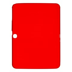 Bright Fluorescent Fire Ball Red Neon Samsung Galaxy Tab 3 (10.1 ) P5200 Hardshell Case