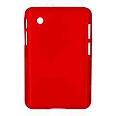 Bright Fluorescent Fire Ball Red Neon Samsung Galaxy Tab 2 (7 ) P3100 Hardshell Case