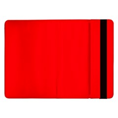 Bright Fluorescent Fire Ball Red Neon Samsung Galaxy Tab Pro 12.2  Flip Case