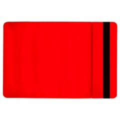 Bright Fluorescent Fire Ball Red Neon iPad Air 2 Flip