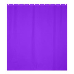 Bright Fluorescent Day glo Purple Neon Shower Curtain 66  x 72  (Large)