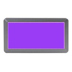 Bright Fluorescent Day glo Purple Neon Memory Card Reader (Mini)