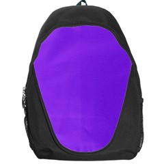 Bright Fluorescent Day glo Purple Neon Backpack Bag
