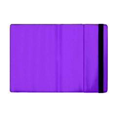 Bright Fluorescent Day glo Purple Neon Apple iPad Mini Flip Case
