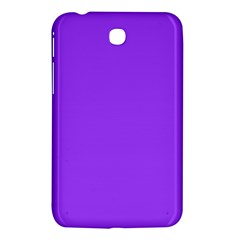 Bright Fluorescent Day glo Purple Neon Samsung Galaxy Tab 3 (7 ) P3200 Hardshell Case