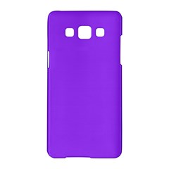Bright Fluorescent Day glo Purple Neon Samsung Galaxy A5 Hardshell Case
