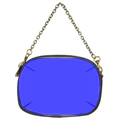 Bright Electric Fluorescent Blue Neon Chain Purses (Two Sides)