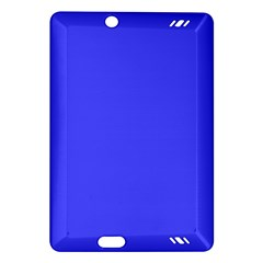 Bright Electric Fluorescent Blue Neon Amazon Kindle Fire HD (2013) Hardshell Case