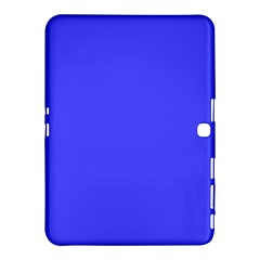 Bright Electric Fluorescent Blue Neon Samsung Galaxy Tab 4 (10.1 ) Hardshell Case