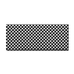 Black and White Checkerboard Weimaraner Cosmetic Storage Cases