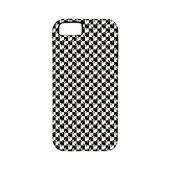 Black and White Checkerboard Weimaraner Apple iPhone 5 Classic Hardshell Case (PC+Silicone)