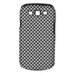 Black and White Checkerboard Weimaraner Samsung Galaxy S III Classic Hardshell Case (PC+Silicone)