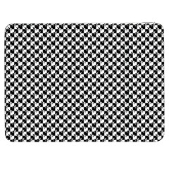 Black and White Checkerboard Weimaraner Samsung Galaxy Tab 7  P1000 Flip Case