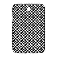 Black and White Checkerboard Weimaraner Samsung Galaxy Note 8.0 N5100 Hardshell Case