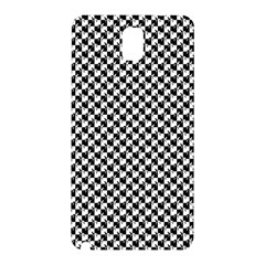 Black and White Checkerboard Weimaraner Samsung Galaxy Note 3 N9005 Hardshell Back Case