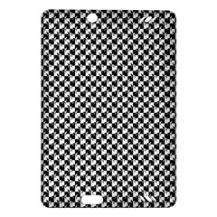 Black and White Checkerboard Weimaraner Amazon Kindle Fire HD (2013) Hardshell Case