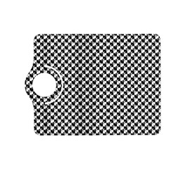 Black and White Checkerboard Weimaraner Kindle Fire HD (2013) Flip 360 Case