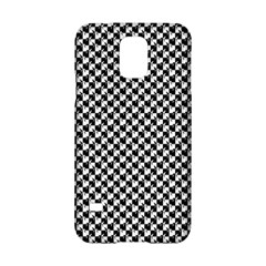 Black and White Checkerboard Weimaraner Samsung Galaxy S5 Hardshell Case