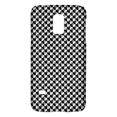 Black and White Checkerboard Weimaraner Galaxy S5 Mini
