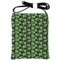 Roses pattern Shoulder Sling Bags