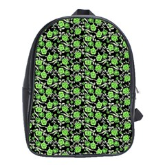 Roses pattern School Bags (XL)