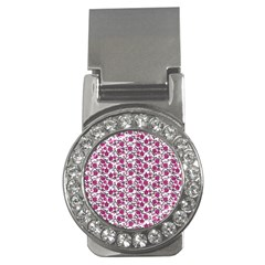 Roses pattern Money Clips (CZ)