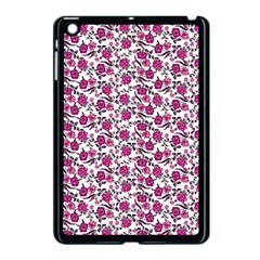 Roses pattern Apple iPad Mini Case (Black)