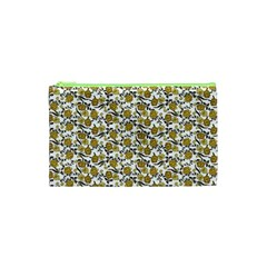 Roses pattern Cosmetic Bag (XS)