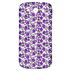 Roses pattern Samsung Galaxy S3 S III Classic Hardshell Back Case